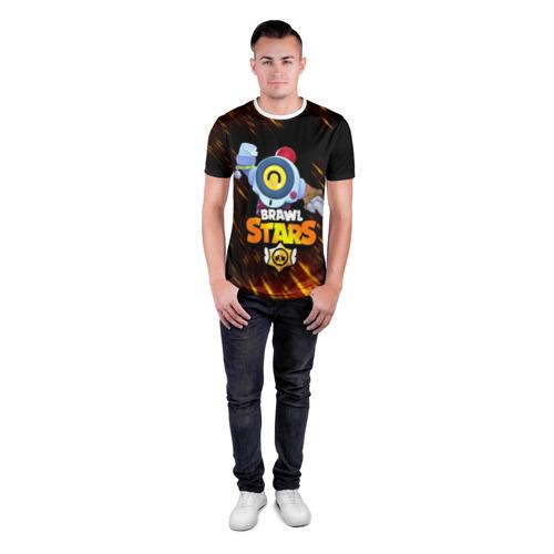 Мужская футболка 3D спортивная BRAWL STARS NANI. за  1435 рублей в интернет магазине Принт виды с разных сторон