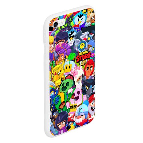 Чехол для iPhone 6/6S матовый BRAWL STARS NANI Фото 01