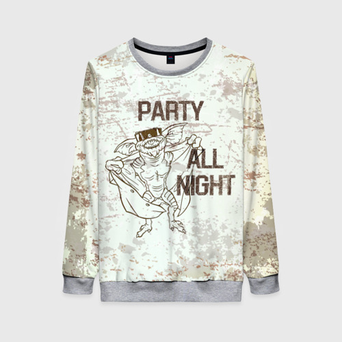 Женский свитшот 3D Party all night Фото 01