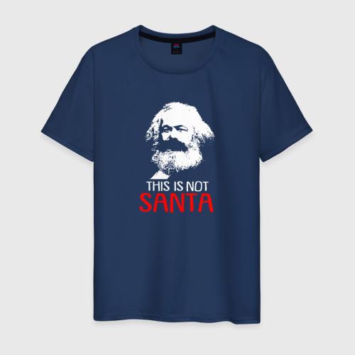 Мужская футболка хлопок Это не Санта Фото 01