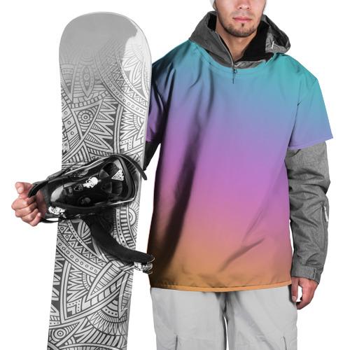 Накидка на куртку 3D градиент M