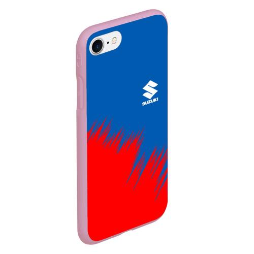 Чехол для iPhone 7/8 матовый SUZUKI. Фото 01