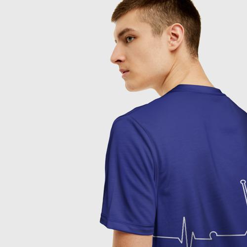 Мужская футболка 3D Самокат фристайл линия жизни  Фото 01
