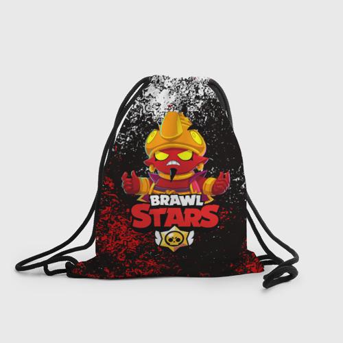 Рюкзак-мешок 3D BRAWL STARS EVIL GENE | ДЖИН Фото 01