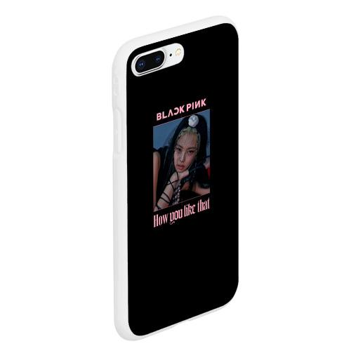 Чехол для iPhone 7/8 Plus матовый BLACKPINK - Jennie Фото 01