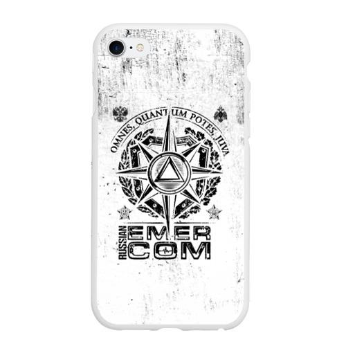 Чехол для iPhone 6/6S Plus матовый RUSSIAN EMERCOM Фото 01