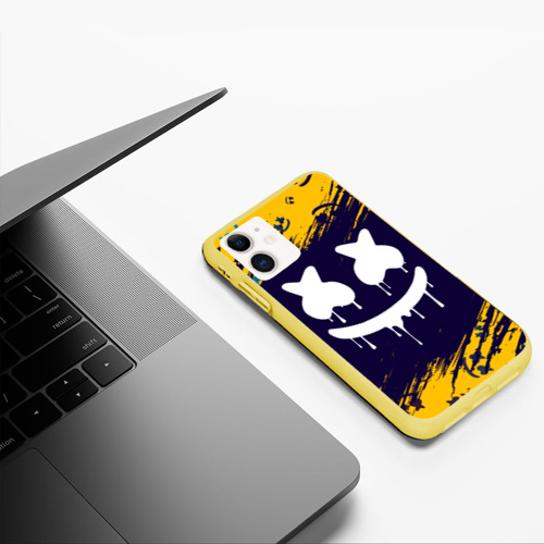 Чехол для iPhone 11 матовый MARSHMELLO / МАРШМЕЛЛОУ Фото 01