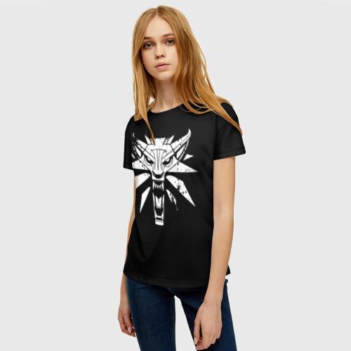 Женская футболка 3D ВЕДЬМАК / THE WITCHER / ГЕРАЛЬ Фото 01