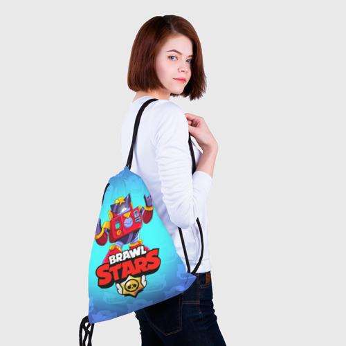 Рюкзак-мешок 3D Вольт - Brawl Stars Фото 01