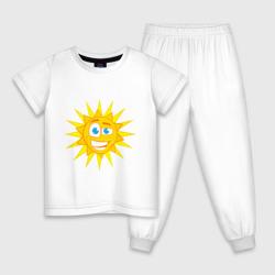 Летнее солнце