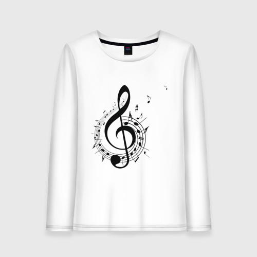 Скрипичный ключ ноты по кругу