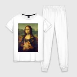 Мона Лиза на карантине