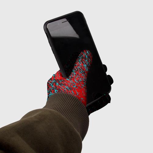 Перчатки 3D Cyberpunk 2077. Фото 01