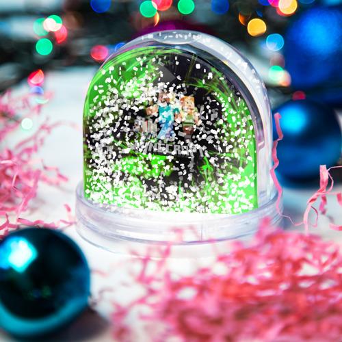 Игрушка Снежный шар MINECRAFT / МАЙНКРАФТ Фото 01