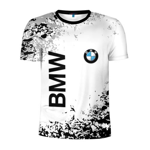 Мужская футболка 3D спортивная BMW. Фото 01