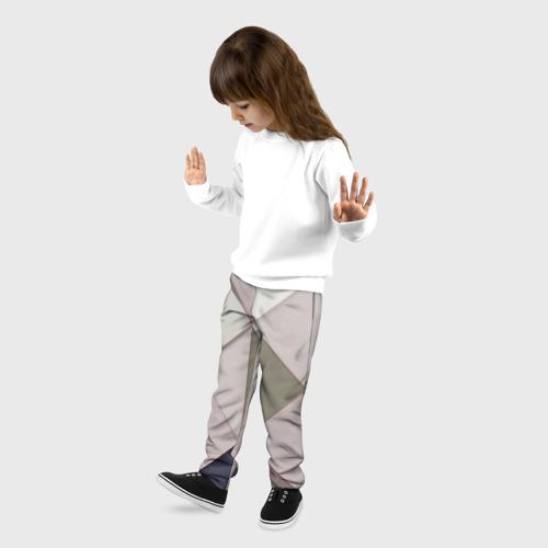 Детские брюки 3D Треугольники Фото 01