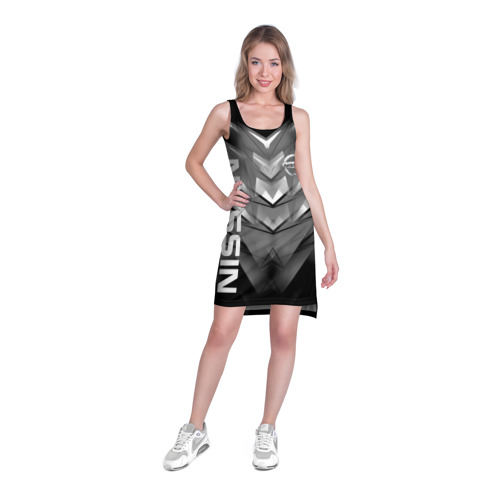 Платье-майка 3D NISSAN. Фото 01
