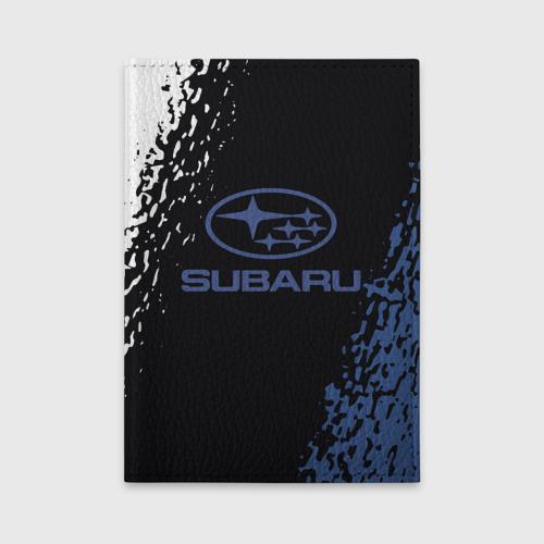 Обложка для автодокументов SUBARU. Фото 01