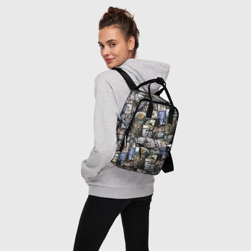 Женский рюкзак 3D Star Wars Film Pattern Фото 01