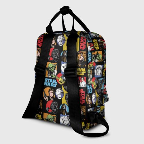 Женский рюкзак 3D Star Wars Posters Pattern Фото 01