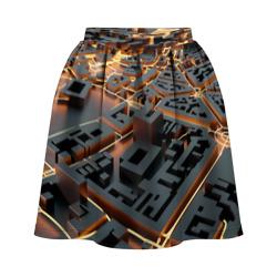 3D абстрактная схема