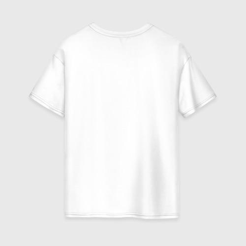Женская футболка хлопок Oversize Бургермен Fortnite Фото 01