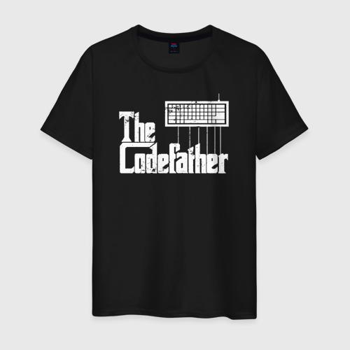 Мужская футболка хлопок The Codefather. Кодный отец Фото 01