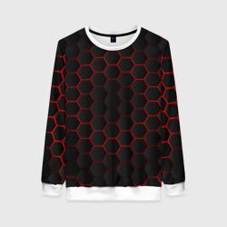 3D black & red