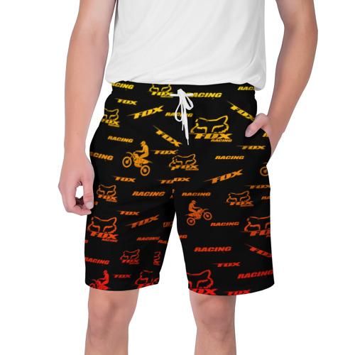 Мужские шорты 3D Форма для мотокросса FOX Фото 01