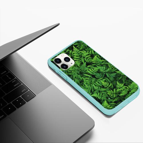 Чехол для iPhone 11 Pro Max матовый ПАПОРОТНИК  Фото 01