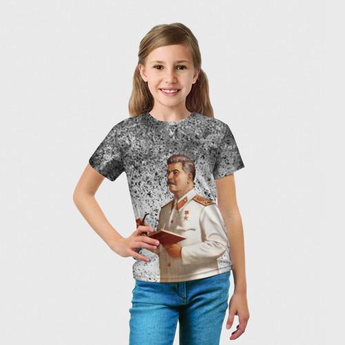 Детская футболка 3D Сталин | Stalin за  990 рублей в интернет магазине Принт виды с разных сторон