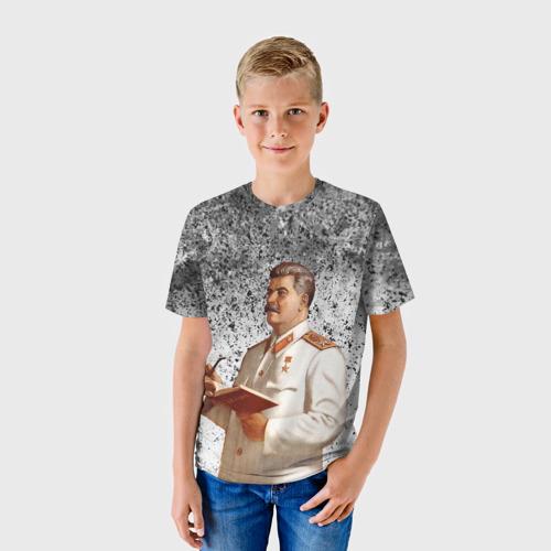 Детская футболка 3D Сталин | Stalin за  1090 рублей в интернет магазине Принт виды с разных сторон