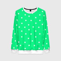 Горошек на зеленом