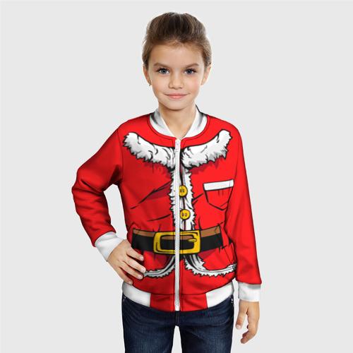 Детский бомбер 3D Санта Клаус Фото 01