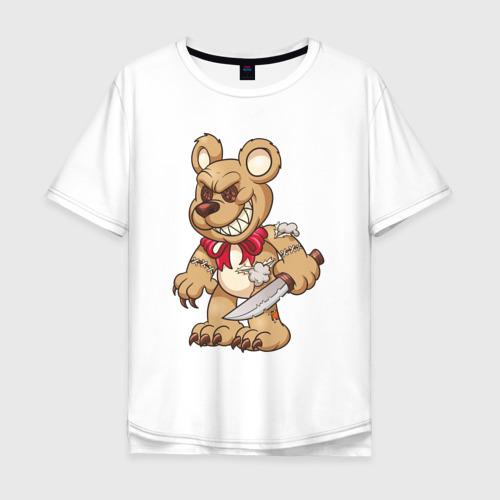 Медведь с ножом