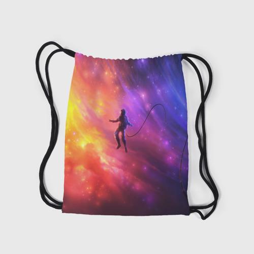 Рюкзак-мешок 3D НЕОНОВЫЙ КОСМОС Фото 01