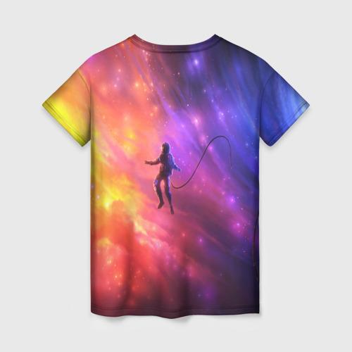 Женская футболка 3D НЕОНОВЫЙ КОСМОС Фото 01