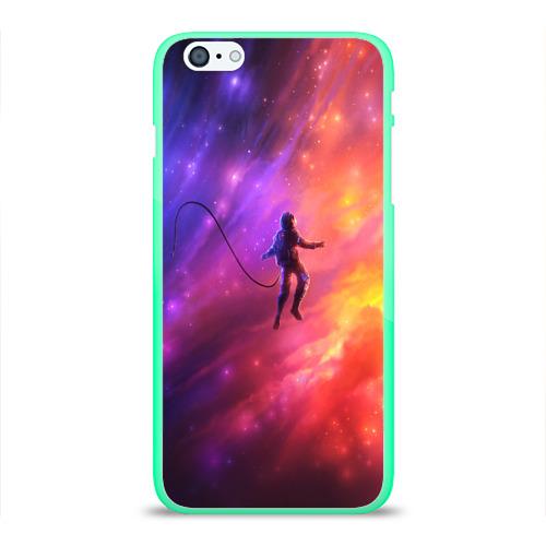 Чехол для iPhone 6Plus/6S Plus глянцевый НЕОНОВЫЙ КОСМОС Фото 01