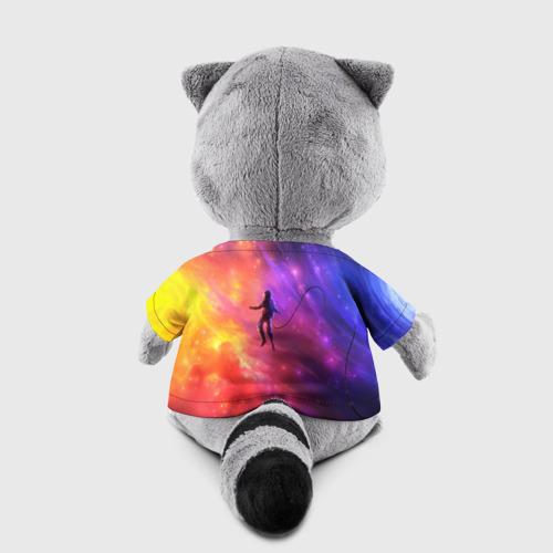 Игрушка Енотик в футболке 3D НЕОНОВЫЙ КОСМОС Фото 01