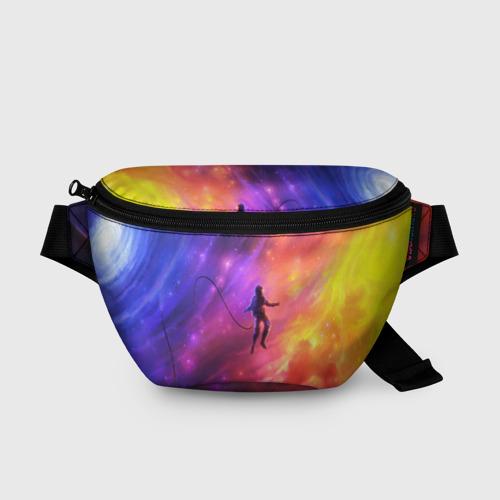 Поясная сумка 3D НЕОНОВЫЙ КОСМОС Фото 01