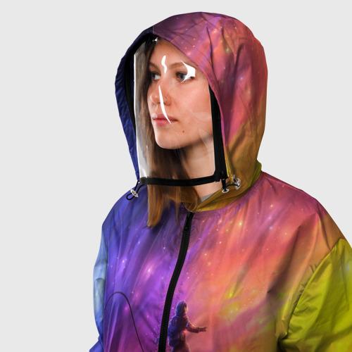 Ветровка 3D с защитным экраном НЕОНОВЫЙ КОСМОС Фото 01