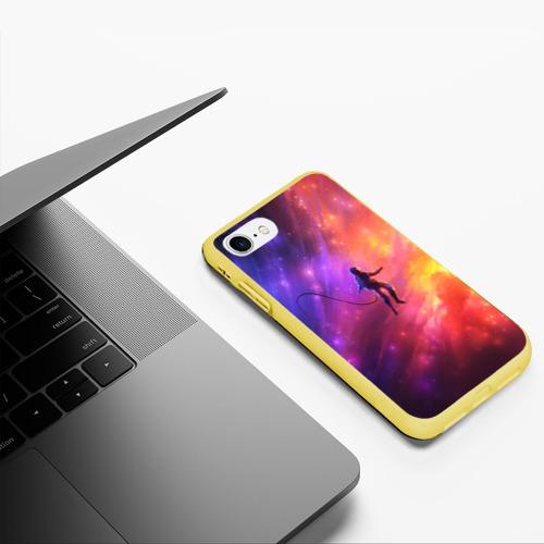 Чехол для iPhone 7/8 матовый НЕОНОВЫЙ КОСМОС Фото 01