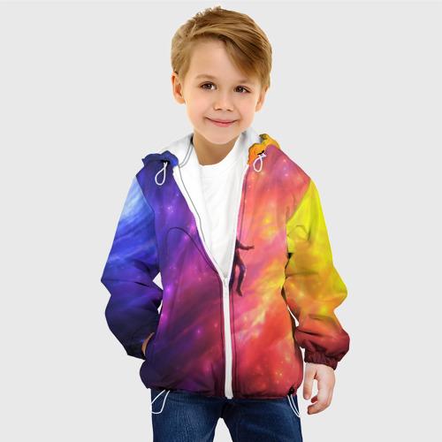 Детская куртка 3D НЕОНОВЫЙ КОСМОС Фото 01