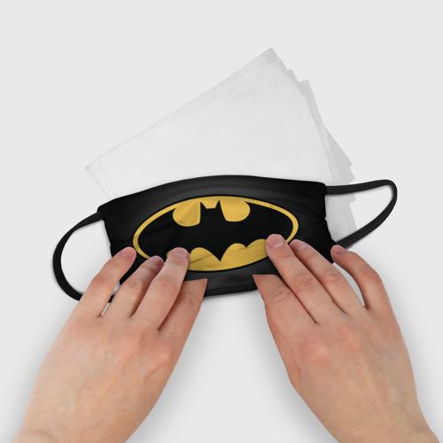 Детская маска (+5 фильтров) Batman (маска) Фото 01