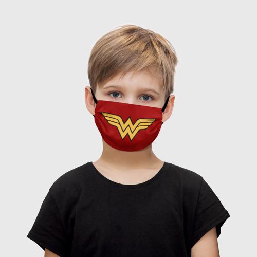 Детская маска (+5 фильтров) Чудо-Женщина (маска) Фото 01