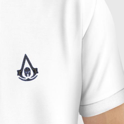 Мужское поло хлопок с вышивкой Assassin's Creed Фото 01