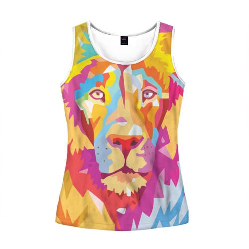 Акварельный лев
