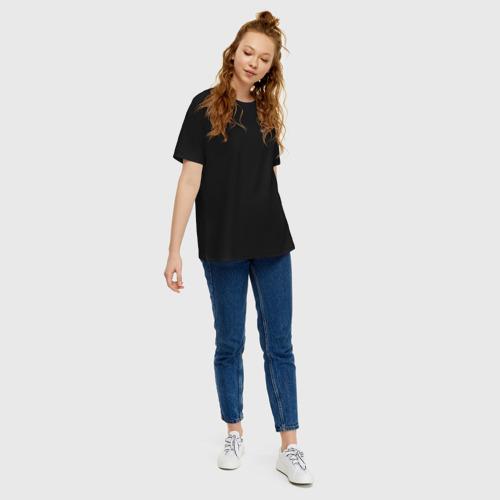 Женская футболка хлопок Oversize EARTH (ЗЕМЛЯ) Фото 01