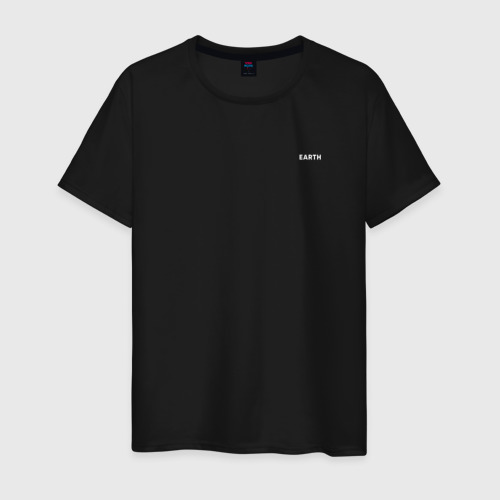 Мужская футболка хлопок EARTH (ЗЕМЛЯ) Фото 01