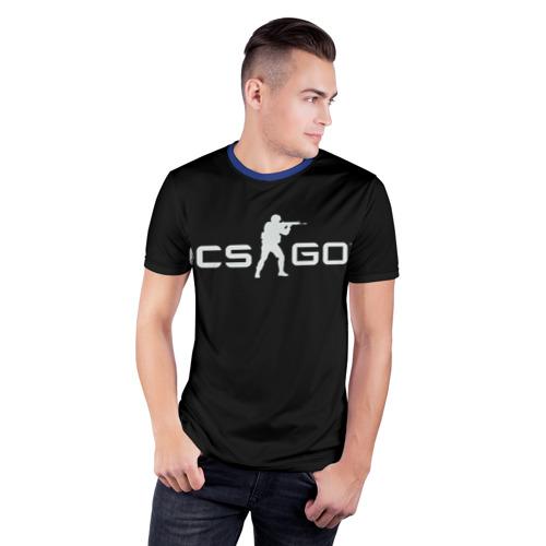 Мужская футболка 3D спортивная Футболка CS:GO Фото 01